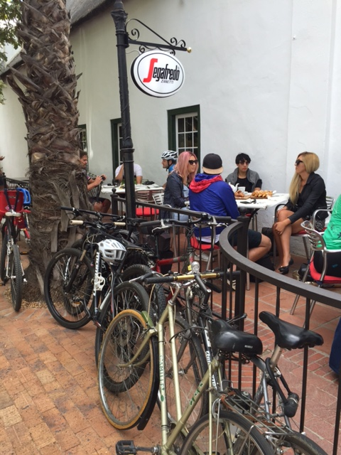 Stellenbosch Bike to Work and School week 2016